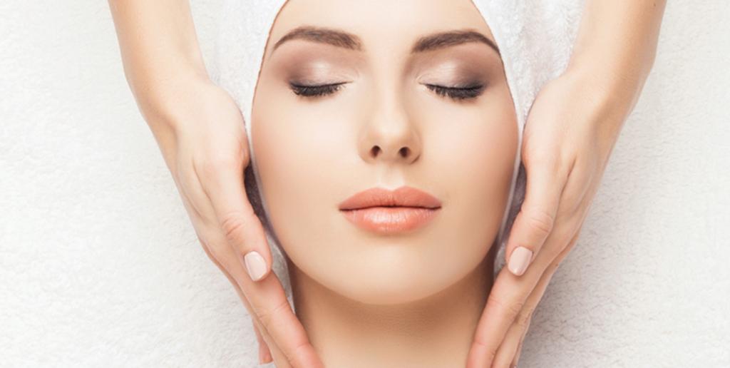 Skin face image