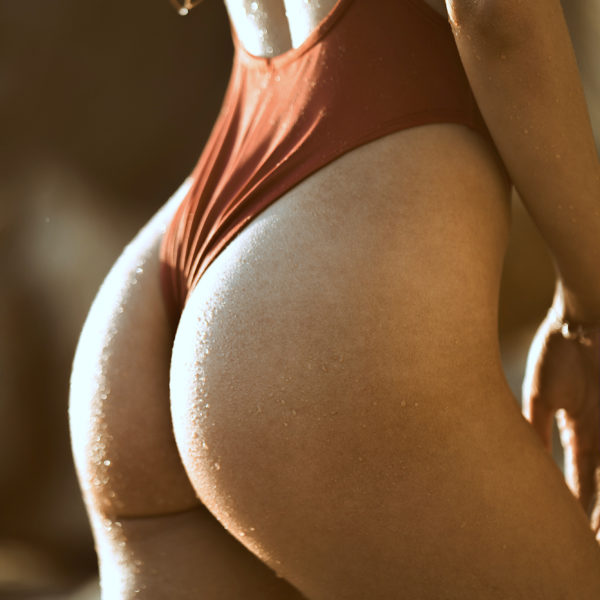 Girl who had the Sculptra Butt Lift procedure